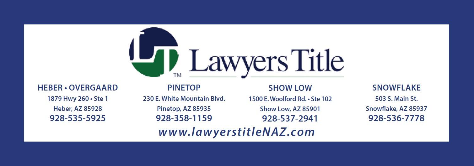 lawyers title-white mtn az